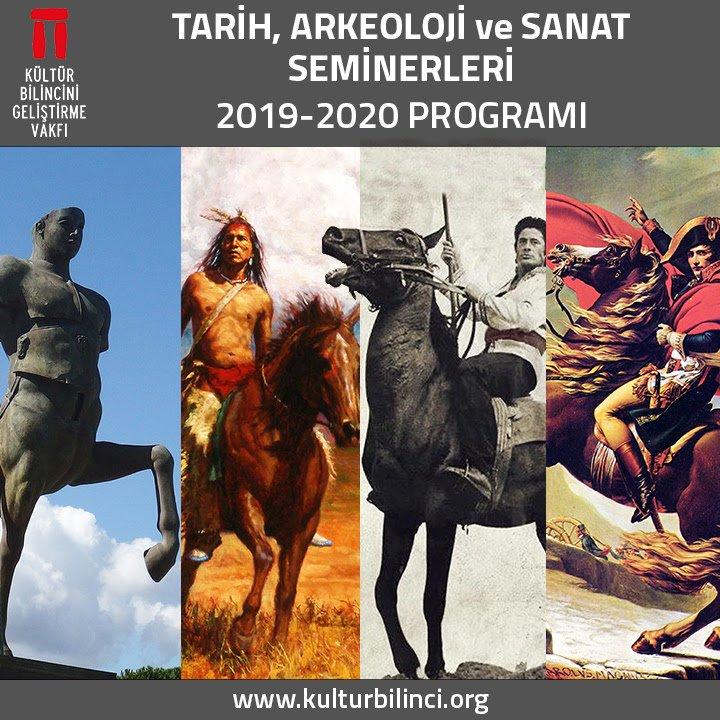 Tarih, Arkeoloji ve Sanat Seminerleri 2019-2020 Programı