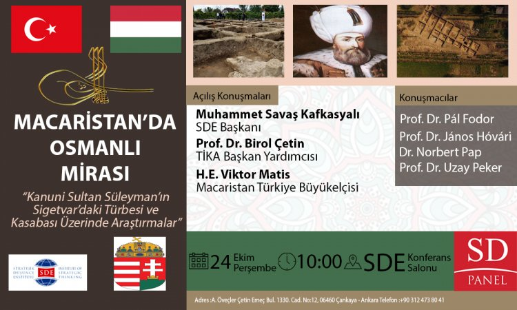 Macaristan'da Osmanlı Mirası paneli yapıldı