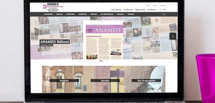 ANAMED'in web sitesi yenilendi!