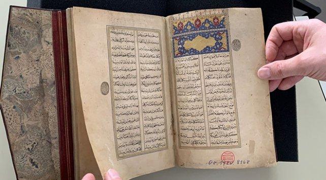 Şeyh Hamdullah'ın yazdığı 'Leyla vü Mecnun' Berlin'de ortaya çıktı