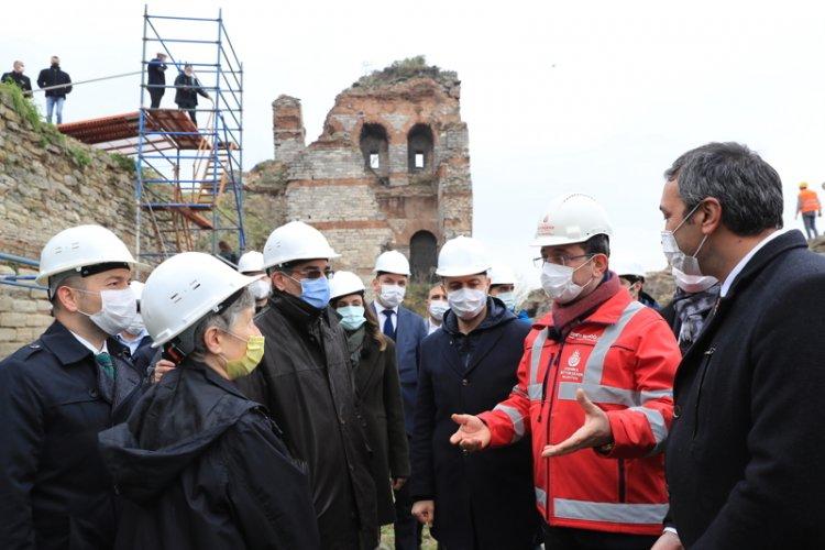 İstanbul kara surları restore ediliyor