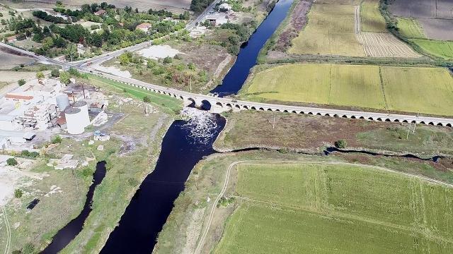 Tarihi Uzunköprü'de restorasyon çalışmaları başladı