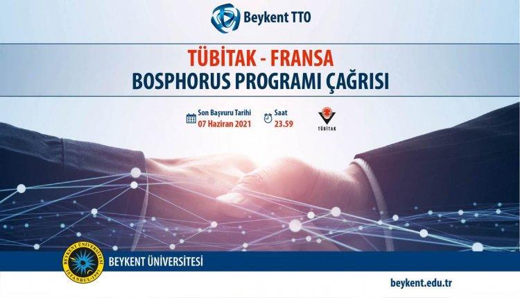 TÜBİTAK - Fransa Bosphours Programı Çağrısı