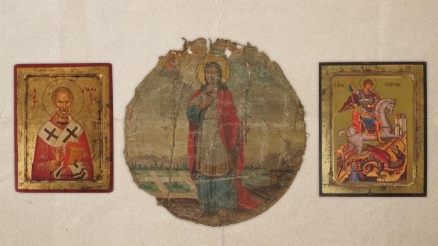 Gökçeada'dan çalınan eserler Bartholomeos'a takdim edilecek